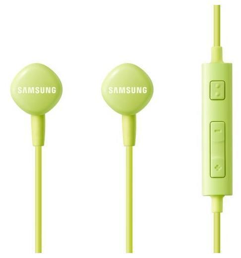 Samsung EO-HS1303, Green гарнитураEO-HS1303GEGRUСтерео гарнитура Samsung EO-HS1303 обладает легкостью, своей незаметностью и превосходным удобством использования. Высококачественные аудиокомпоненты данной модели обеспечивают максимальную детализацию звукопередачи. Внутриканальные наушники имеют эргономичную конструкцию, что обеспечивает Вам превосходную звукоизоляцию от внешних шумов. Samsung EO-HS1303 обладает стильным внешним видом и отличается качественной сборкой.