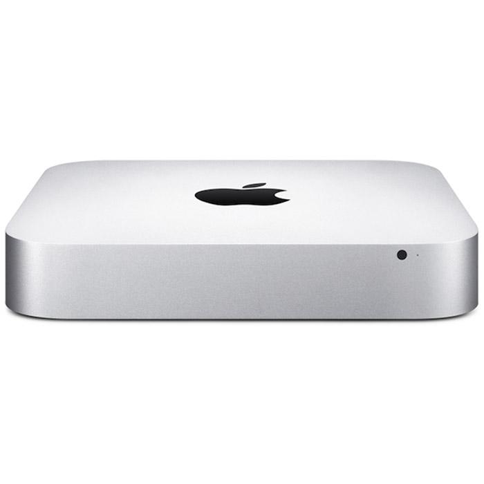 Apple Mac mini (MGEQ2RU/A)MGEQ2RU/AApple Mac mini - компактный настольный компьютер, в квадратном корпусе которого спрятаны полноценные возможности компьютера Mac. Просто подключите к нему монитор, клавиатуру и мышь - и вы готовы к великим свершениям. Mac mini оснащаются процессорами Intel Core четвёртого поколения и могут посоревноваться с компьютерами вдвое большего размера. Вы можете остановиться на двухъядерном процессоре Intel Core i5 с тактовой частотой 1,4 ГГц, 2,6 ГГц или 2,8 ГГц. Или выбрать ещё более мощный двухъядерный процессор Intel Core i7 с тактовой частотой 3,0 ГГц. Разрешение, обеспечиваемое графическими процессорами Intel Iris Graphics и Intel HD Graphics 5000, до 90% выше по сравнению со встроенным графическим процессором предыдущего поколения. Поэтому при просмотре видео и во время игр изображение на экране более плавное и естественное. Просматривать фотоальбомы стало удивительно просто. И теперь у вас есть все возможности, чтобы превратить снятое вами HD-видео в настоящий шедевр.Технология Fusion Drive включена в стандартную комплектацию модели и является вариантом конфигурации для других моделей. Она сочетает в себе преимущества жёсткого диска объёмом 1 ТБ с невероятной скоростью работы флэш-накопителей PCIe. Fusion Drive автоматически управляет вашими данными, поэтому часто используемые приложения, документы, фотографии и другие файлы остаются на более быстром флэш-накопителе, а редко используемые объекты перемещаются на жёсткий диск. Благодаря этому компьютер быстрее загружается. А когда операционная система запомнит, с чем вы предпочитаете работать, она сможет запускать ваши любимые приложения и открывать файлы быстрее. Самое приятное в том, что вам решительно ничего не надо для этого делать.Вы можете выбрать жёсткий диск объёмом 500 ГБ, 1 ТБ и даже 2 ТБ. Кроме того, доступна конфигурация Mac mini с флэш-памятью объёмом до 1 ТБ в виде полупроводникового жёсткого диска повышенной производительности. Флэш-память позволяет повысить производител