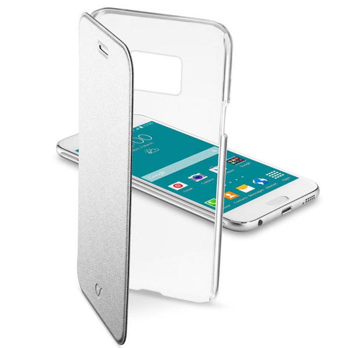 Cellular Line Clear Book чехол для Samsung Galaxy S6, SilverCLEARBOOKGALS6SЧехол Cellular Line Clear Book для Samsung Galaxy S6 предназначен для защиты корпуса смартфона от механических повреждений и царапин в процессе эксплуатации. Имеет свободный доступ ко всем разъемам и кнопкам устройства.