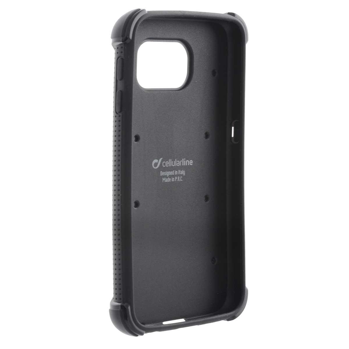 Cellular Line Hammer чехол для Samsung Galaxy S6, Black + защитная пленка