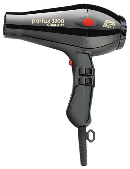 Parlux 3200 Compact 0901-3200, Black фен
