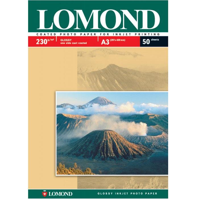 Lomond Photo 230/A3/50л односторонняя глянцевая