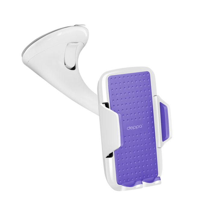 Deppa Crab Vogue автомобильный держатель для смартфонов 3.5 -5.9 , White - Автомобильные держатели