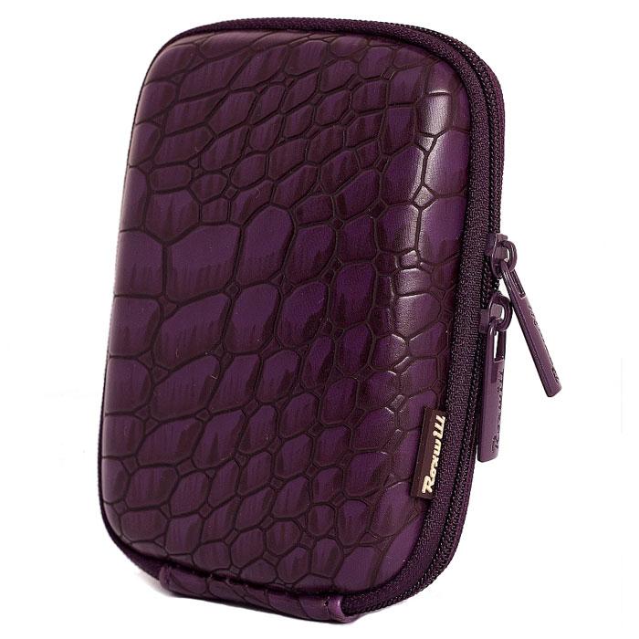 Roxwill C30 Croco, Violet чехол для фото- и видеокамер сумка для фотоаппарата roxwill neo10 grey