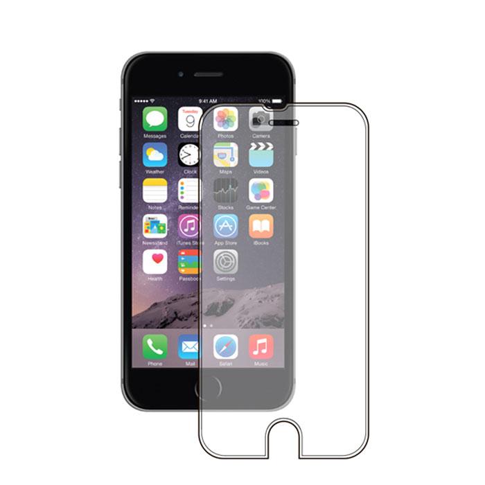 Deppa защитное стекло для Apple iPhone 6, прозрачное (0.2 мм)61943Прочное защитное стекло Deppa для Apple iPhone 6. Обеспечивает более высокий уровень защиты по сравнению с обычной пленкой. При этом яркость и чувствительность дисплея не будут ограничены. Препятствует появлению воздушных пузырей и надежно крепится на экране устройства.