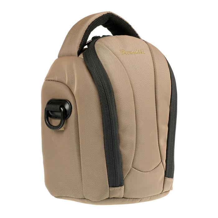 Roxwill NEO-20, Coffee чехол для фото- и видеокамерNEO-20 coffeeСтильная сумка Roxwill NEO-20 с цветными вставками для зеркальной фотокамеры с установленным объективом. Надежно защитит вашу камеру от случайных ударов и царапин, а также от пыли и влаги. Верхний откидной клапан закрывается на двойную застежку «молния» и обеспечивает быстрый доступ к фотокамере. Имеется два внутренних кармана для карт памяти. Для переноски предусмотрены регулируемый наплечный ремень и удобная ручка.