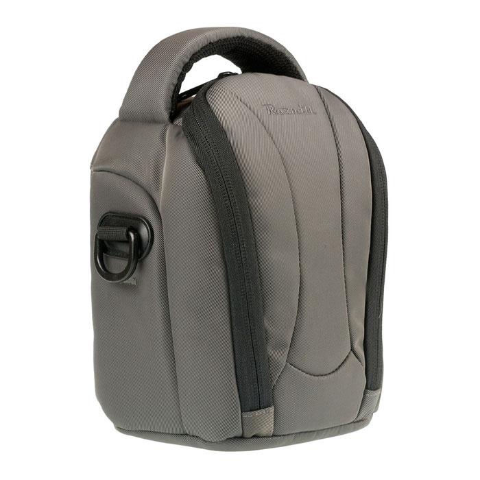 Roxwill NEO-20, Grey чехол для фото- и видеокамерNEO-20 greyСтильная сумка Roxwill NEO-20 с цветными вставками для зеркальной фотокамеры с установленным объективом. Надежно защитит вашу камеру от случайных ударов и царапин, а также от пыли и влаги. Верхний откидной клапан закрывается на двойную застежку «молния» и обеспечивает быстрый доступ к фотокамере. Имеется два внутренних кармана для карт памяти. Для переноски предусмотрены регулируемый наплечный ремень и удобная ручка.