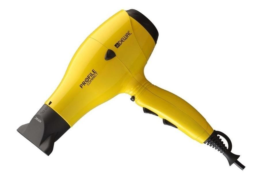 Dewal Profile Compact 03-119, Yellow фен03-119 YellowПрофессиональный фен Dewal 03-119 - это превосходное соотношение цены и качества. Профессинальные фены немецкой фирмы Dewal заслуженно признаны одними из лучших среди профессионального парикмахерского оборудования. Благодаря множеству установленных функций нового поколения, значительно упрощающих работу, таких как: генераторы отрицательных частиц, придающие волосам естественный блеск; долговечный мотор с системой «Антисбой», позволяющий работать без перерыва на протяжении 30 дней; опция моментальной подачи холодного воздуха, для улучшения фиксации укладки и т.д. Продукты данной серии прекрасно подходят как для профессинального применения, так и для любителей