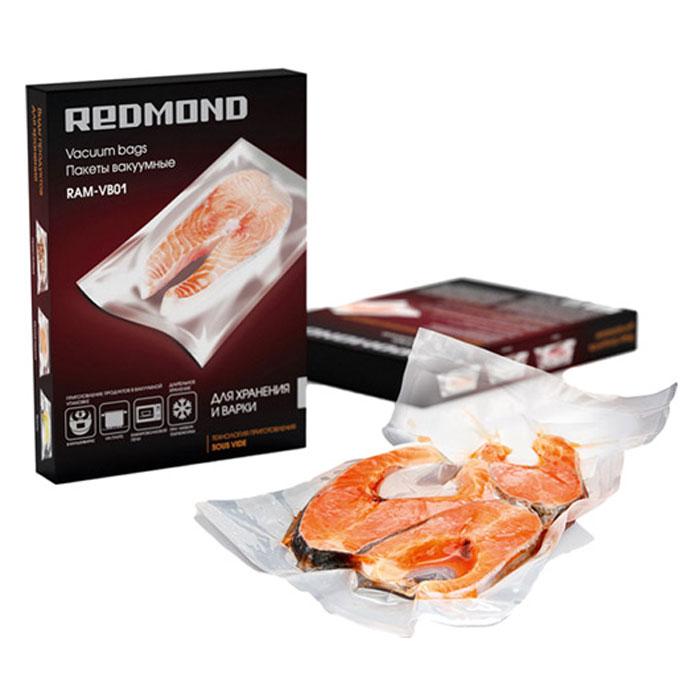 Redmond RAM-VB01 пакеты вакуумныеRAM-VB01Вакуумные пакеты Redmond RAM-VB01 многофункциональны. Они применяются для долгосрочного хранения продуктов, для их надежной транспортировки, а также для приготовления пищи при низкой температуре и при мариновании. Приготовление в вакууме по технологии позволяет максимально сохранить полезные свойства пищи.