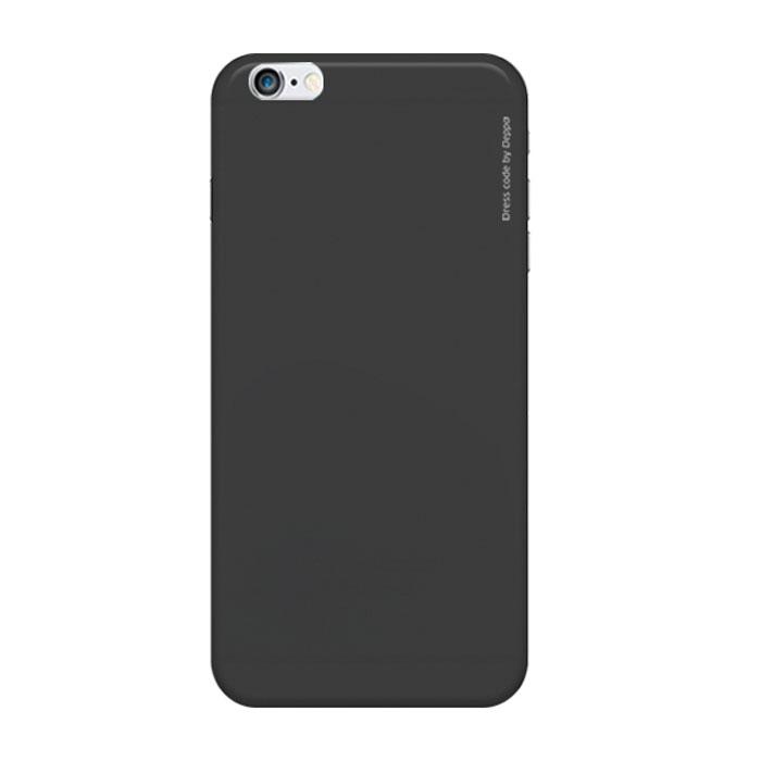 Deppa Air Case чехол для iPhone 6, Black83118Чехол Deppa Air Case для iPhone 6 предназначен для защиты корпуса смартфона от механических повреждений и царапин в процессе эксплуатации. Имеется свободный доступ ко всем разъемам и кнопкам устройства. Чехол изготовлен из поликарбоната Teijin производства Японии с покрытием Soft touch.