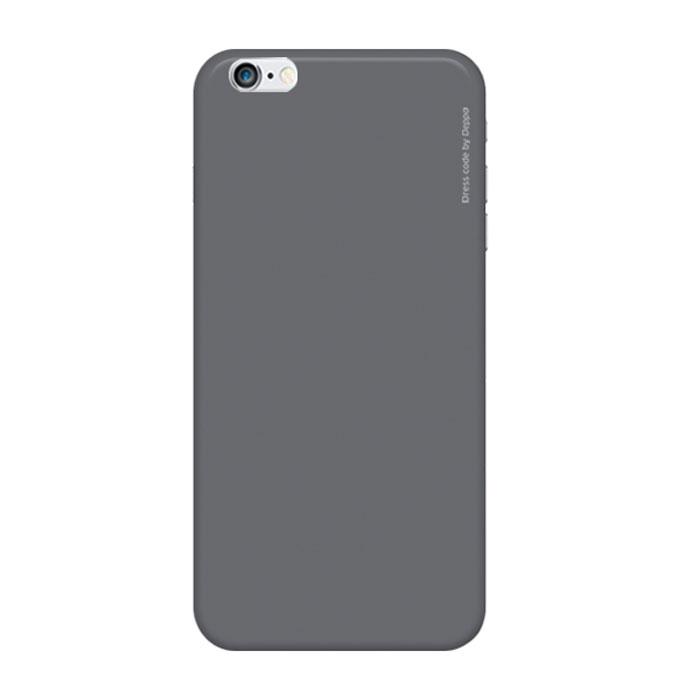 Deppa Air Case чехол для iPhone 6, Grey83119Чехол Deppa Air Case для iPhone 6 предназначен для защиты корпуса смартфона от механических повреждений и царапин в процессе эксплуатации. Имеется свободный доступ ко всем разъемам и кнопкам устройства. Чехол изготовлен из поликарбоната Teijin производства Японии с покрытием Soft touch.