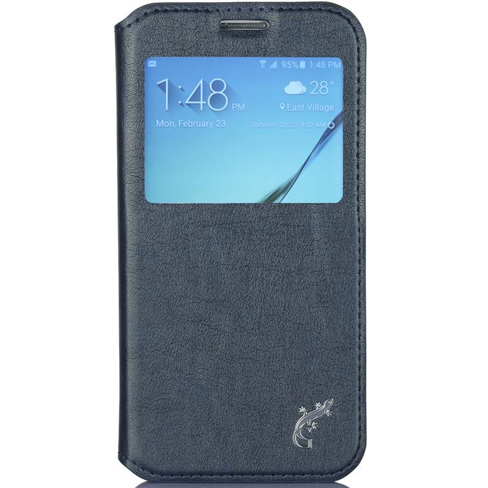 G-Case Slim Premium чехол для Samsung Galaxy S6, NavyGG-613Чехол G-Case Slim Premium для Samsung Galaxy S6 - это стильный и лаконичный аксессуар, позволяющий сохранить устройство в идеальном состоянии. Надежно удерживая ваш смартфон, обложка защищает корпус и дисплей от появления царапин, налипания пыли и других механических повреждений. Имеется свободный доступ ко всем разъемам устройства.