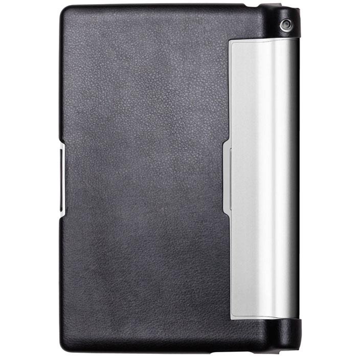 Ecostyle Shell чехол для Lenovo Yoga Tablet 10, Blackesc-0049Чехол для Lenovo Yoga Tablet 10 сделан из эко-кожи, защищает устройство от царапин,а мягкая внутренняя поверхность служит для защиты устройства от повреждений. Все разъемы, кнопки и камеры доступны без снятия чехла. Чехол позволяет устанавливать устройство в двух положениях - печати и просмотра.