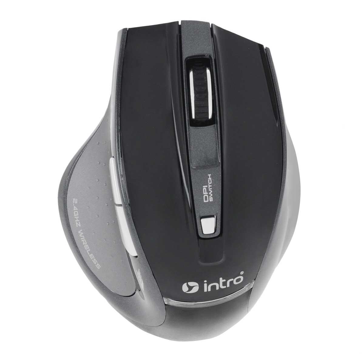 Intro MW107G Wireless Gaming Basic, Black мышьMW107GСтильная беспроводная мышь Intro MW107G Wireless Gaming Basic обладает эргономичным дизайном и отлично подходит как для игр, так и для работы в офисе. Игровая эргономичная беспроводная мышь предназначена для настольного компьютера. Мышь с эффективной энергосберегающей технологией позволяет пользоваться устройствами длительное время с пользой. Также есть место для хранения ресивера в корпусе мыши. Радиус действия до 10 м предоставляет возможность пользоваться мышью с максимальным удобством.
