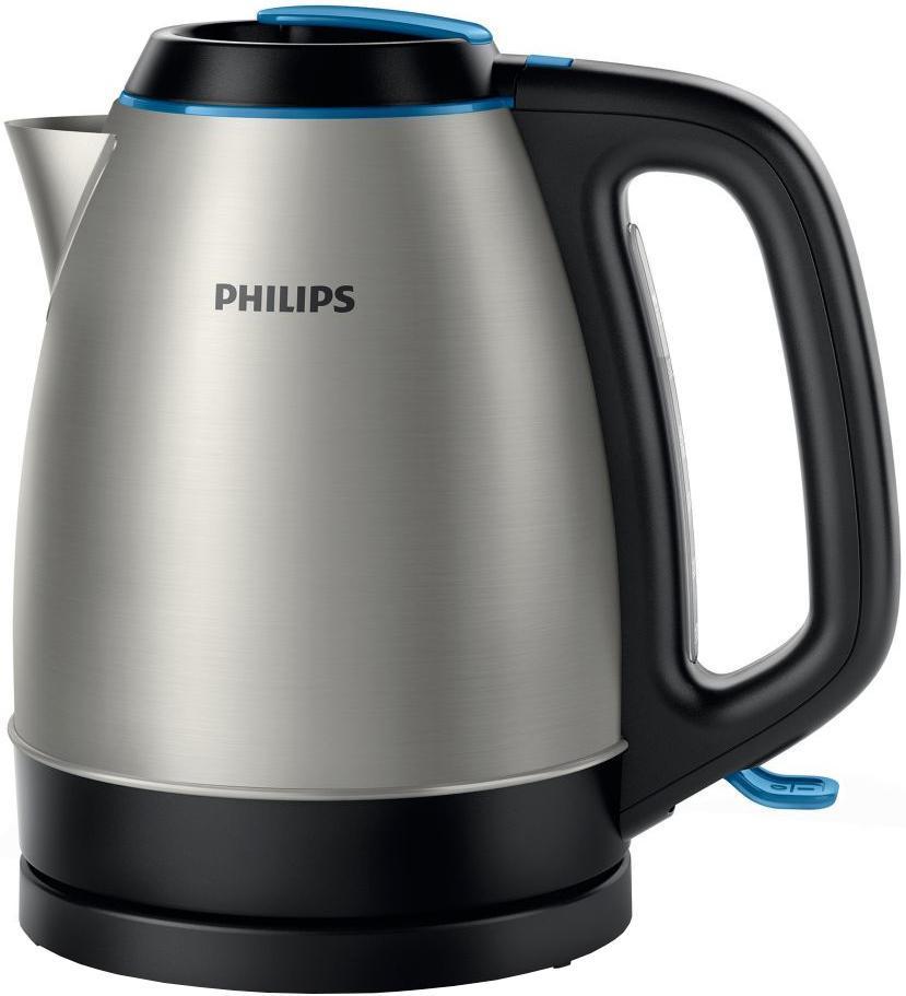 Philips HD9302/21 электрочайникHD9302/21Заливать нужное количество воды пользователь сможет через широкий носик прибора или через крышку, откидывающуюся при нажатии кнопки. Для того, чтобы в чашки из чайника не попадала накипь, в носике устанавливается съемный промываемый фильтр. Круглая подставка с центральным контактом позволяет брать и устанавливать чайник правой или левой рукой.