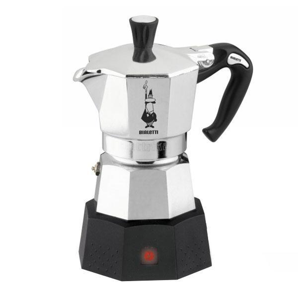 Bialetti Moka Elettrica R гейзерная кофеварка8006363027786Moka Elettrika всегда можно взять с собой в дорогу и легко приготовить традиционный кофе Moka, где бы вы не находилисьДля тех, кто любит просыпаться под неповторимый аромат свежеприготовленного кофе. Таймер позволяет установить время начала приготовления
