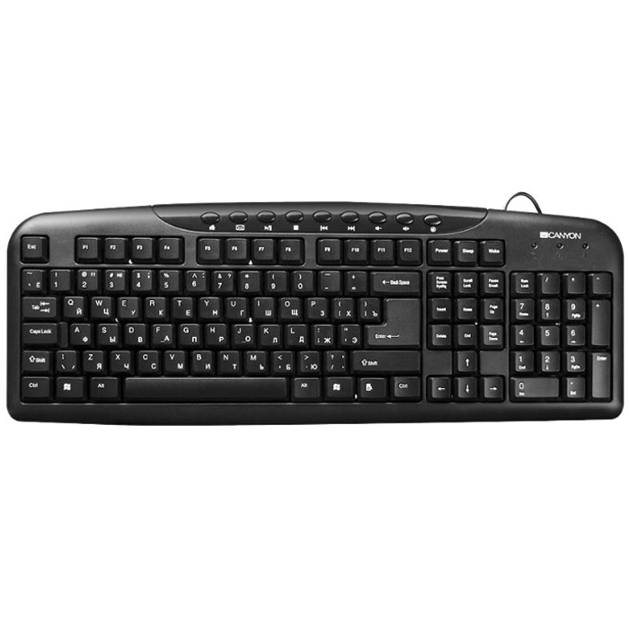 Canyon CNE-CKEY2 проводная клавиатура