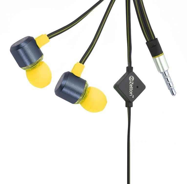 Zetton Triangle, Black Yellow гарнитура (ZTLSHSTRI)ZTLSHSTRIBYСтерео гарнитура предназначена для разговора по телефону без помощи рук и прослушивания музыки.Легкий алюминиевый корпус серого цвета, с пластиковой вставкой и цветными резиновыми амбушюрами.