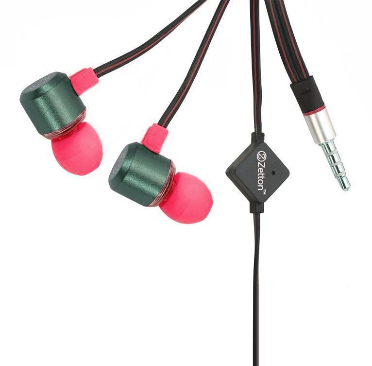 Zetton Triangle, Black Pink гарнитура (ZTLSHSTRI)ZTLSHSTRIBPСтерео гарнитура предназначена для разговора по телефону без помощи рук и прослушивания музыки.Легкий алюминиевый корпус серого цвета, с пластиковой вставкой и цветными резиновыми амбушюрами.