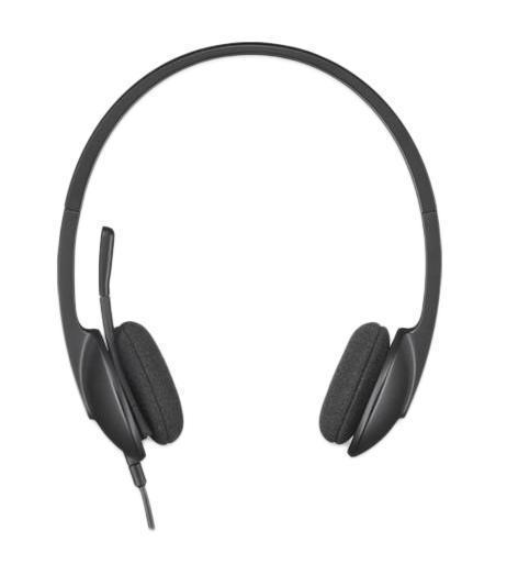 Logitech Headset H340 USB проводная гарнитура (981-000508)