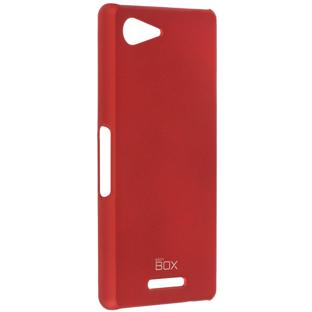 Skinbox Shield 4People чехол для Sony Xperia E3, RedT-S-SXE3-002Чехол Skinbox Shield 4People для Sony Xperia E3 предназначен для защиты корпуса смартфона от механических повреждений и царапин в процессе эксплуатации. Имеется свободный доступ ко всем разъемам и кнопкам устройства. В комплект также входит защитная пленка на экран телефона.
