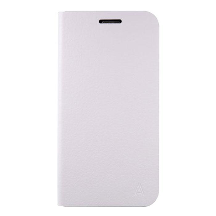 Anymode Flip Case чехол для Samsung S6 Edge, White