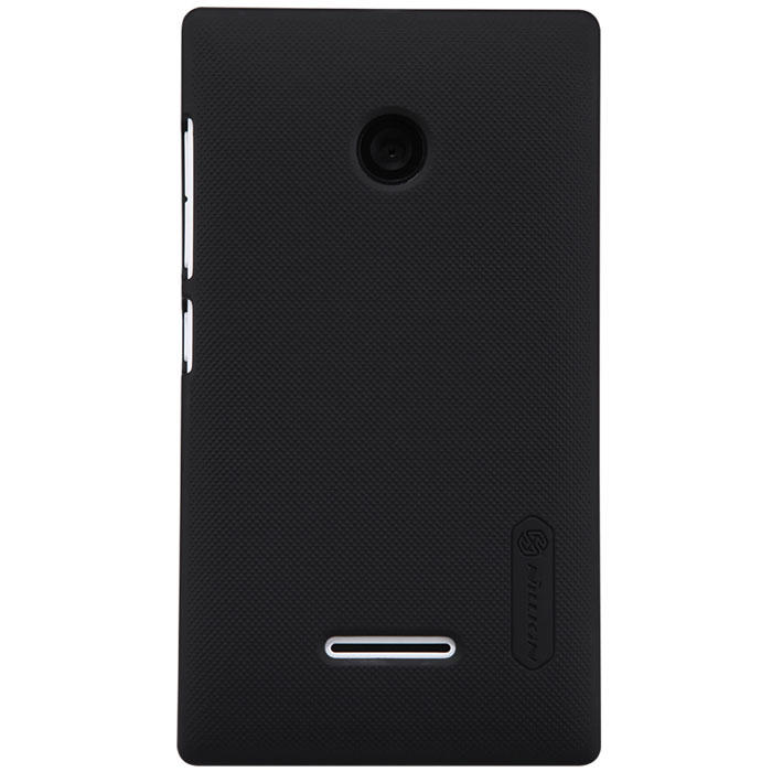 Nillkin Super Frosted Shield чехол для Microsoft Lumia 435, Black чехол для смартфона htc desire 700 7088 nillkin super frosted shield черный