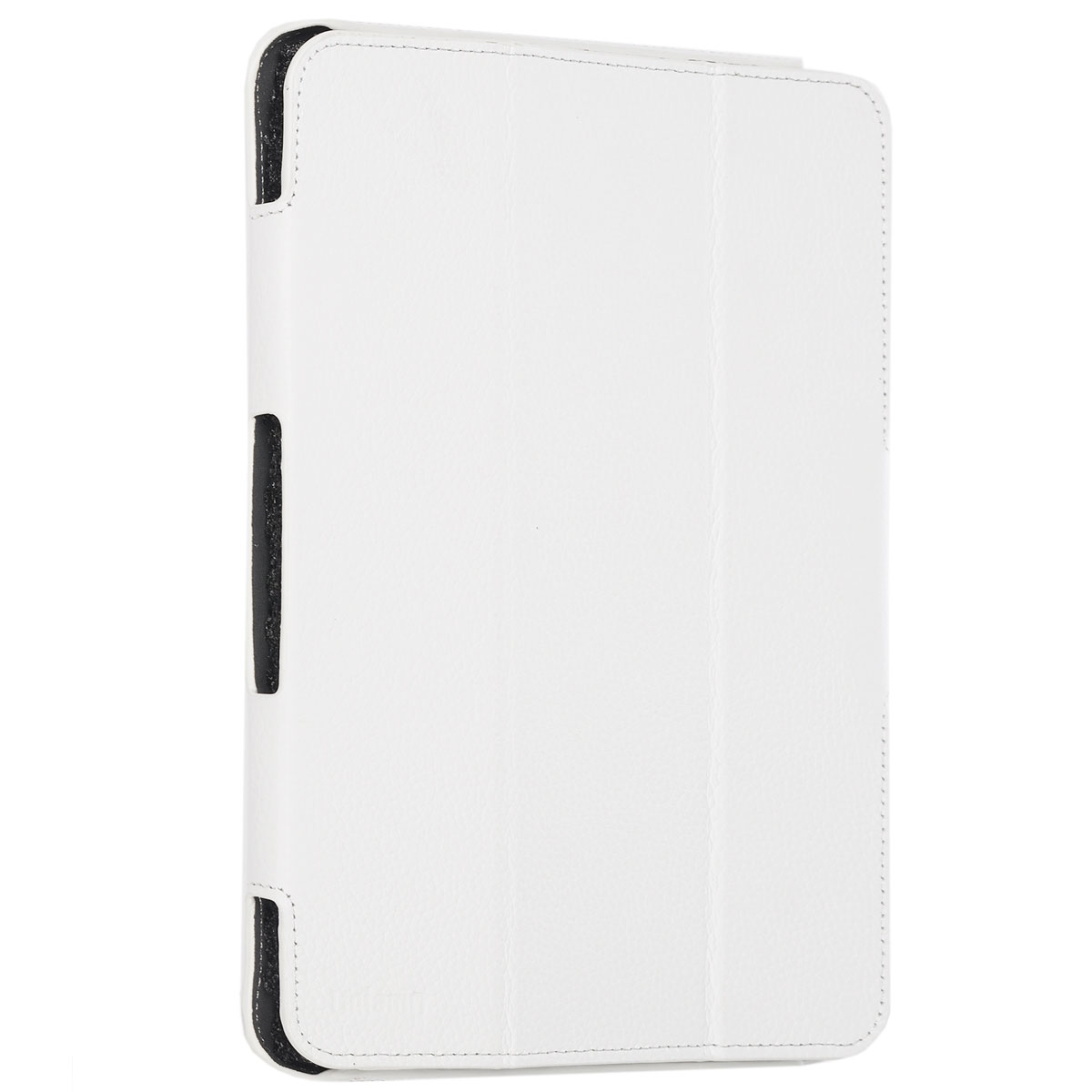 Untamo Alto чехол для Samsung Galaxy Tab 4 10.1, WhiteUALSGT410WHЧехол Untamo Alto сделан из натуральной кожи. Он защищает устройство от царапин и повреждений. Все кнопки и разъемы доступны без снятия чехла. Модель из тонкой кожи четко повторяет контуры устройства, не утяжеляя его. Чехол позволяет устанавливать устройство в двух положениях - печати и просмотра.