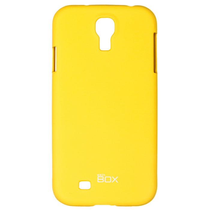 Skinbox Shield 4People чехол для Samsung Galaxy S4, YellowT-S-SGS4-002Чехол Skinbox Shield 4People для Samsung Galaxy S4 предназначен для защиты корпуса смартфона от механических повреждений и царапин в процессе эксплуатации. Имеется свободный доступ ко всем разъемам и кнопкам устройства. В комплект также входит защитная пленка на экран телефона.