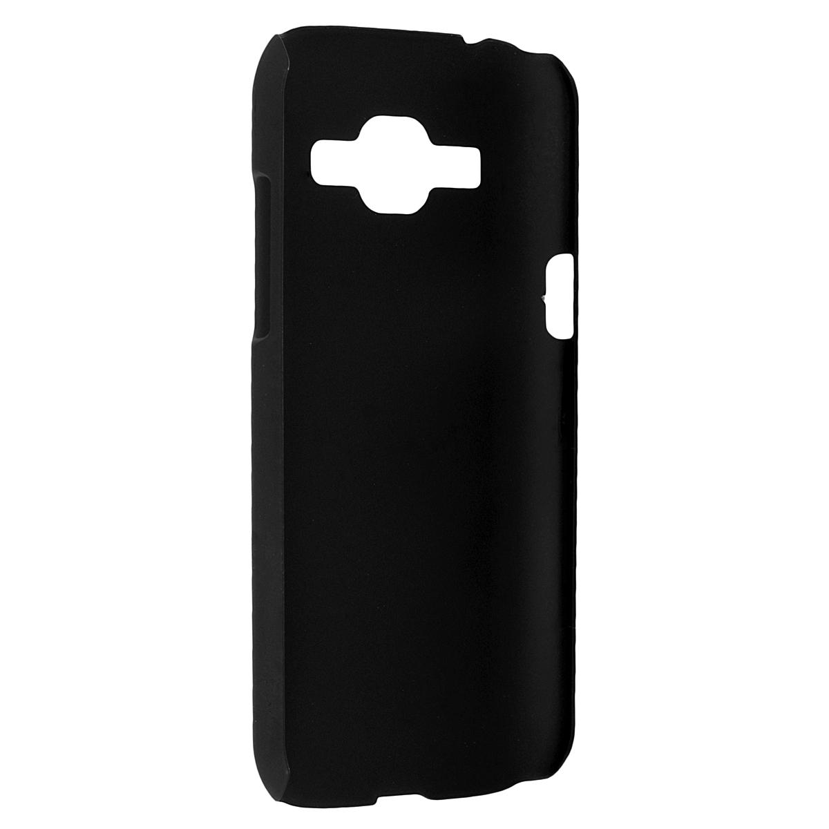 Skinbox Shield 4People чехол для Samsung J1 3G DS, BlackT-S-SJ13G-002Чехол Skinbox Shield 4People для Samsung Galaxy J1 предназначен для защиты корпуса смартфона от механических повреждений и царапин в процессе эксплуатации. Имеется свободный доступ ко всем разъемам и кнопкам устройства. В комплект также входит защитная пленка на экран телефона.