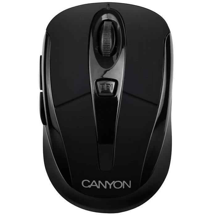 Canyon CNR-MSOW06, Black мышьCNR-MSOW06BНасладитесь свободой, работая на ноутбуке или ПК с беспроводной мышью Canyon CNR-MSOW06. Это отличное решение, чтобы избежать нагромождения проводов на вашем столе. Она предлагает вам передовые лазерные технологии 2,4 ГГц и переключаемое разрешение до 1600 dpi для впечатляющей производительности. Мышь имеет уникальный встроенный отсек для хранения мини USB-ресивера. Она обладает эргономичным и компактным дизайном для удобной навигации, высокой точностью управления движением и плавностью. Мышь также совместима с операционной системой Microsoft Windows 7.