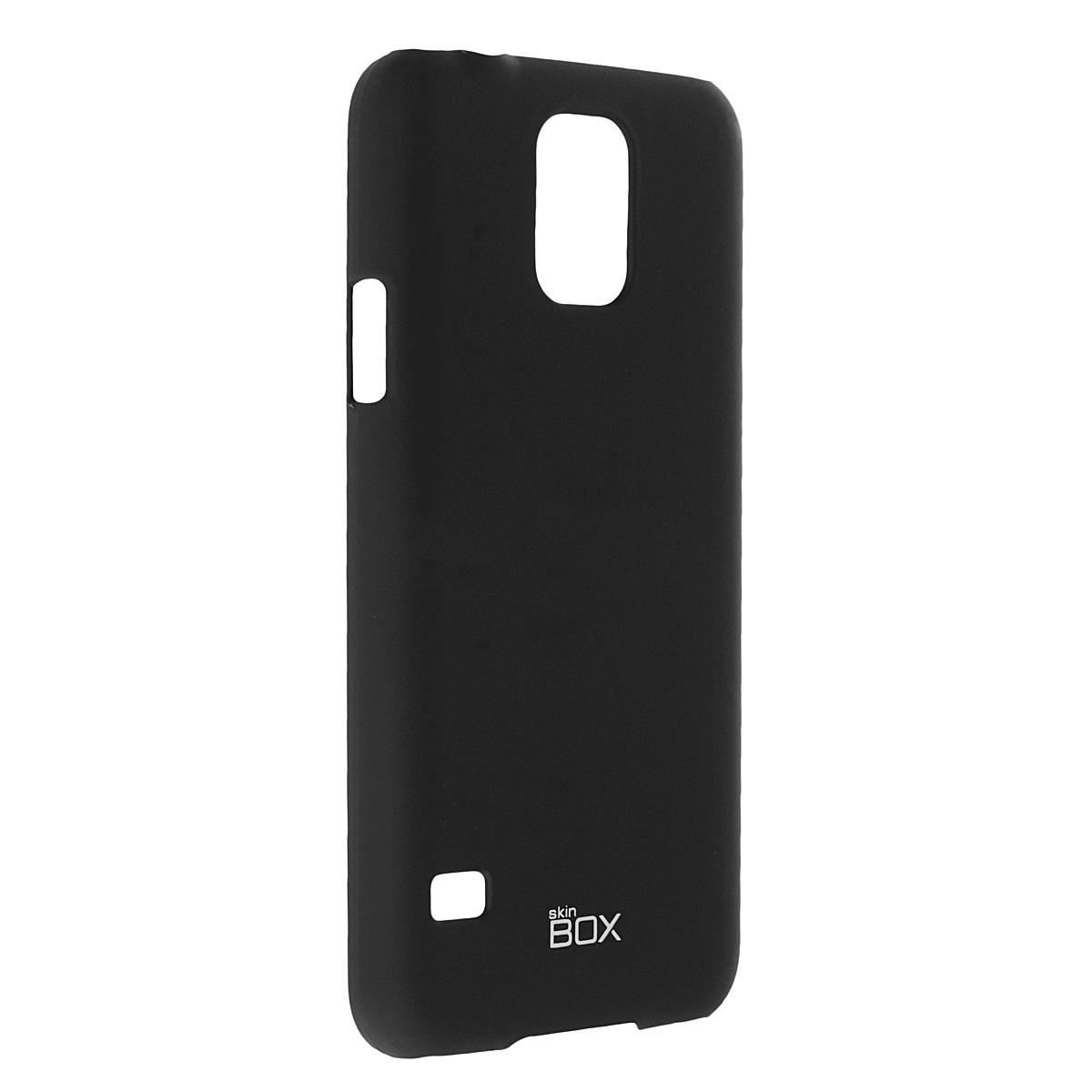 Skinbox Shield 4People чехол для Samsung Galaxy S5, BlackT-S-SGS5-002Чехол Skinbox Shield 4People для Alcatel One Touch Pop C5 предназначен для защиты корпуса смартфона от механических повреждений и царапин в процессе эксплуатации. Имеется свободный доступ ко всем разъемам и кнопкам устройства. В комплект также входит защитная пленка на экран телефона.
