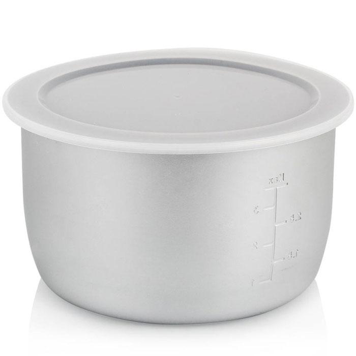 Steba AS 5 сменная чаша для мультиварки DD 2 XL 6лAS 5 for DD2 XL teflonЧаша для мультиварки Steba AS 5 объемом 6 литров является необходимым атрибутом устройства, обеспечивающим качественную работу. Чаша из алюминиевого сплава имеет антипригарное покрытие Teflon (DuPont) и является весьма вместительной. В комплект также входит крышка.
