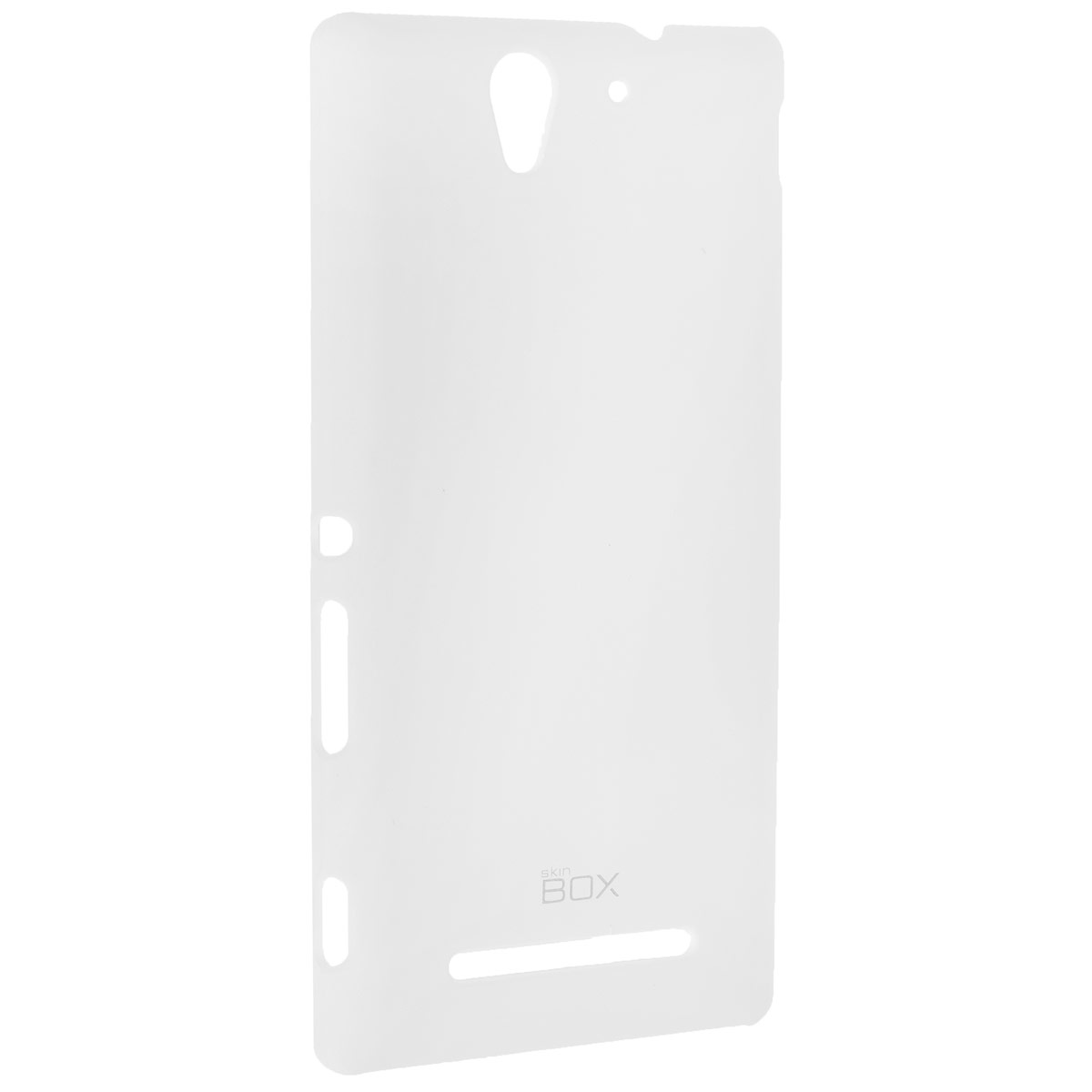 Skinbox Shield 4People чехол для Sony Xperia C3, White чехлы для телефонов skinbox lg max l bello 2 skinbox shield 4people