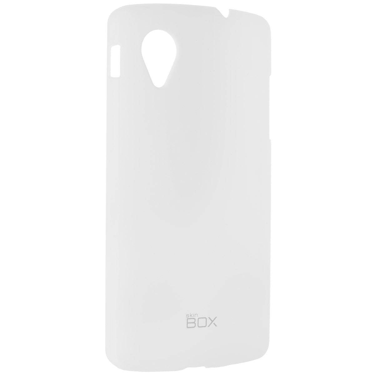 Skinbox Shield 4People чехол для LG Nexus 5, WhiteT-S-LN5-002Чехол Skinbox Shield 4People для LG Nexus 5 предназначен для защиты корпуса смартфона от механических повреждений и царапин в процессе эксплуатации. Имеется свободный доступ ко всем разъемам и кнопкам устройства. В комплект также входит защитная пленка на экран телефона.