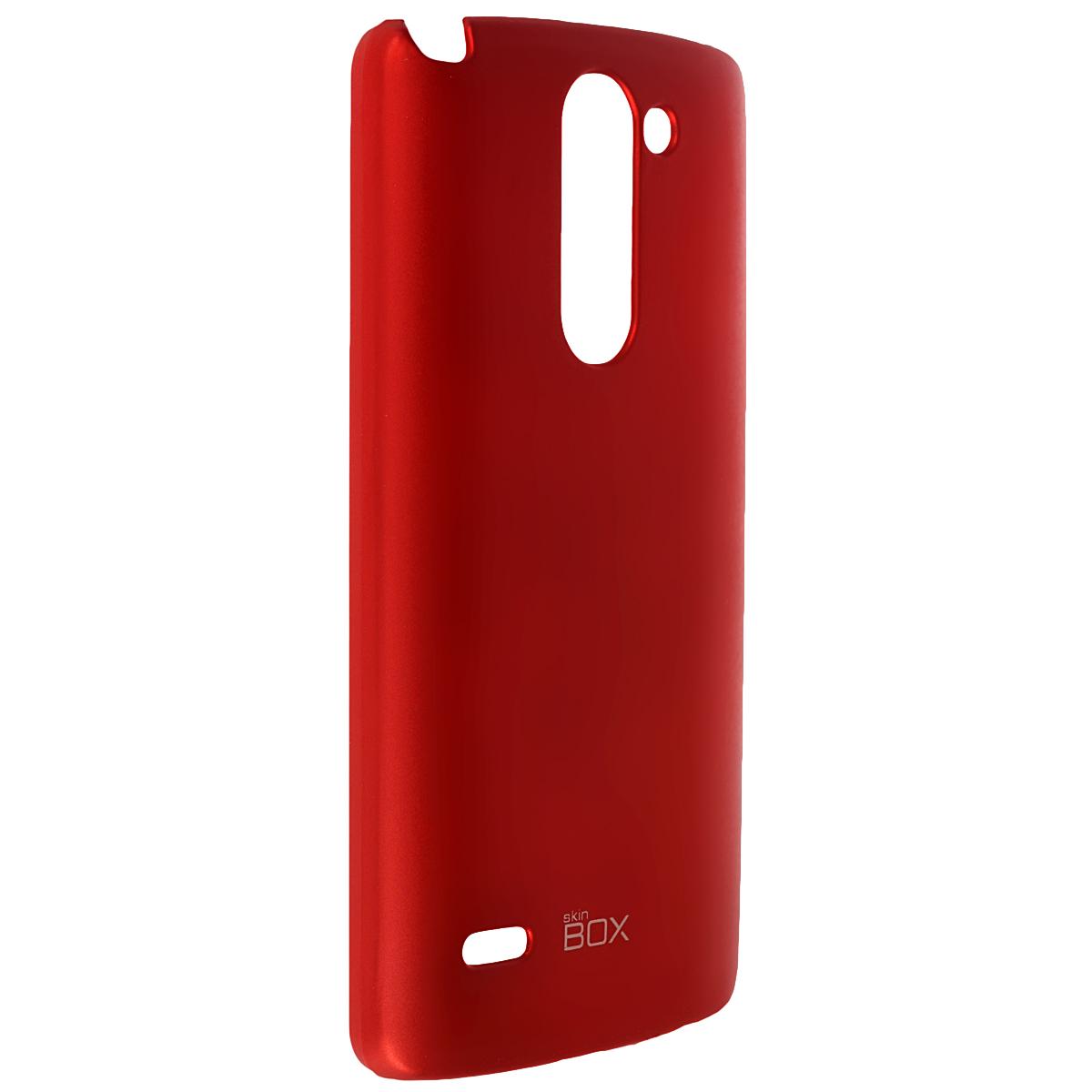 Skinbox Shield 4People чехол для LG G3 Stylus, RedT-S-LG3Stylus-002Чехол Skinbox Shield 4People для LG G3 Stylus предназначен для защиты корпуса смартфона от механических повреждений и царапин в процессе эксплуатации. Имеется свободный доступ ко всем разъемам и кнопкам устройства. В комплект также входит защитная пленка на экран телефона.