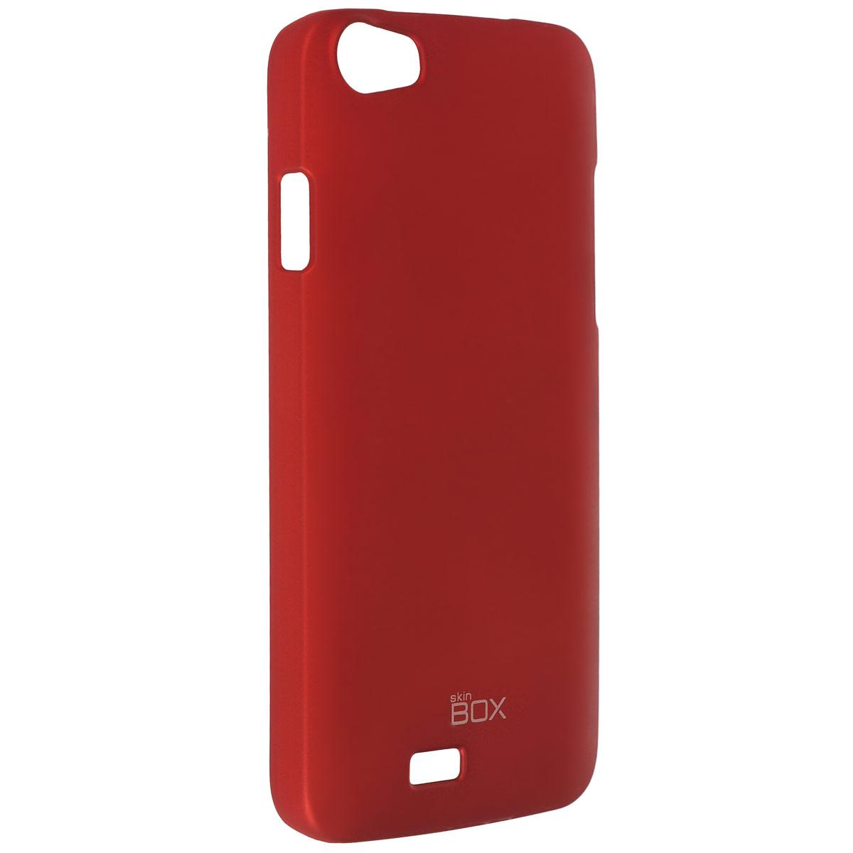 Skinbox Shield 4People чехол для Explay Rio, RedT-S-ER-002Чехол Skinbox Shield 4People для Explay Rio предназначен для защиты корпуса смартфона от механических повреждений и царапин в процессе эксплуатации. Имеется свободный доступ ко всем разъемам и кнопкам устройства.