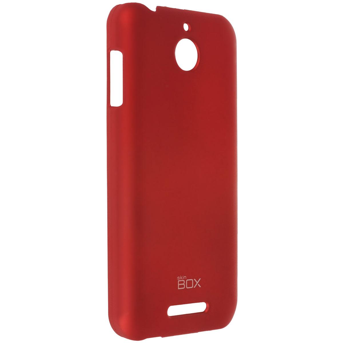 Skinbox Shield 4People чехол для HTC Desire 510, RedT-S-HD510-002Чехол Skinbox Shield 4People дляHTC Desire 510 предназначен для защиты корпуса смартфона от механических повреждений и царапин в процессе эксплуатации. Имеется свободный доступ ко всем разъемам и кнопкам устройства. В комплект также входит защитная пленка на экран телефона.