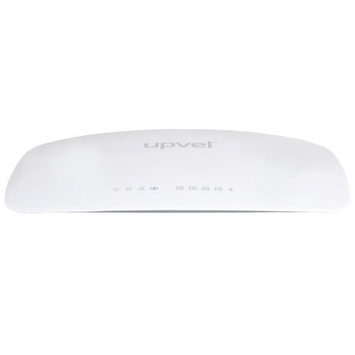 UPVEL UR-321BN ARCTIC WHITE маршрутизаторUR-321BNWi-Fi маршрутизатор UPVEL UR-321BN предназначен для организации домашней сети или сети малого офиса. С его помощью вы сможете быстро объединить в сеть стационарные компьютеры, ноутбуки, смартфоны, планшеты и другие цифровые устройства и обеспечить возможность одновременного доступа в Интернет и использования ресурсов локальной сети для всех подключенных устройств.Для беспроводного подключения таких устройств, как смартфоны, планшетные компьютеры и ноутбуки, роутер оснащен точкой доступа Wi-Fi 802.11n 300 Мбит/с. Также имеются четыре порта LAN 100 Мбит/с, которые можно использовать для проводного подключения стационарных компьютеров и IPTV приставок.Подключение к Интернету возможно через 3G/LTE модем и по проводному каналу Ethernet через порт WAN 100 Мбит/с. Первый случай предполагает обычное использование Интернета (просмотр веб-страниц, электронная почта, социальные сети, IP-телефония, простые браузерные игры и т. п.), в то время как подключение по технологии Ethernet позволит, в дополнение к перечисленным выше возможностям, активно участвовать в файлообменных сетях, играть в клиентские онлайн-игры, принимать IP-телевидение высокой четкости и пользоваться ресурсами локальной сети вашего интернет-провайдера.Кроме того, роутер UR-321BN предоставляет возможность резервирования подключения к Интернету через 3G/LTE модем. Если функция резервирования включена, то в случае сбоя основного соединения (через порт WAN) роутер автоматически попытается установить соединение с Интернетом через 3G/LTE модем. Наличие соединения через порт WAN будет периодически проверяться, и при восстановлении связи по проводному каналу роутер переключится обратно на него. Если для доступа в Интернет используется только проводное подключение через порт WAN, то к порту USB можно подключить внешний накопитель (HDD, SSD, Flash) или принтер и организовать к нему общий доступ.Фирменная утилита на прилагаемом диске поможет вам за считанные минуты настрои