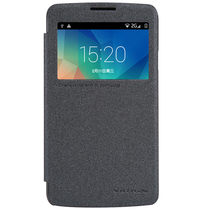 Nillkin Sparkle Leather Case чехол для LG L60 (X145), BlackT-N-LL60-009Чехол-книжка Nillkin Sparkle Leather Case для LG L60 (X145) отлично защищает ваш телефон от внешних воздействий, грязи, пыли, брызг, также смягчает удары, не позволяя образовываться на корпусе царапинам и потертостям. Позволяет пользоваться всеми функциями не вынимая из чехла. Не имеет крепления для ношения на поясном ремне.