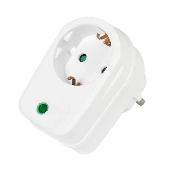 Vivanco 21950 адаптер-розетка (сетевой фильтр)21950Vivanco 21950 - сетевой фильтр, который защищает устройства от короткого замыкания и перенапряжения.