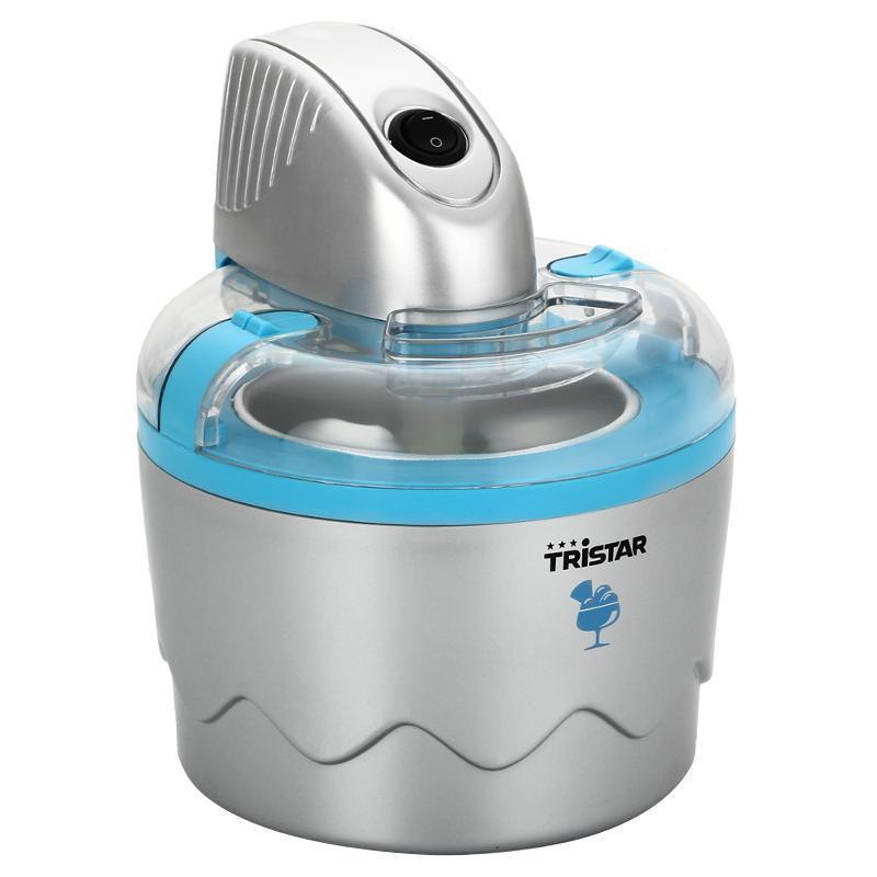 Tristar YM-2603 мороженицаYM-2603Мороженица Tristar YM-2603 - простой и компактный прибор 2 в 1 для приготовления мороженого и йогурта в домашних условиях. Для приготовления десерта достаточно всего 20-40 минут, и его можно подавать к столу. За один раз прибор способен приготовить до 1 кг мороженого! Этого вполне достаточно, чтобы угостить любимым лакомством всю семью или небольшую компанию друзей. Благодаря корпусу из прочного пластика мороженица Tristar YM-2603 имеет легкий вес, что позволяет легко ее транспортировать. Через прозрачную крышку можно наблюдать за процессом приготовления. Емкость тары 0,8 л, что вполне достаточно для небольшой компании. Устройство снабжено нескользящими ножками.