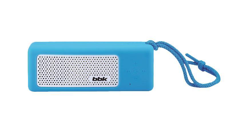 BBK BTA190, Blue акустическая системаBTA190Представляем вам новый продукт Компании BBK - современную акустическую систему BTA190. Компактная и функциональная, она станет надежным помощником дома, а также незаменимым спутником в любой поездке! Достаточно подсоединить через линейный вход AUX IN, USB2.0-порт или посредством Bluetooth – смартфон, планшет, компьютер или любое другое устройство, и можно вдоволь наслаждаться творчеством любимых исполнителей. Наличие функции громкой связи позволит использовать устройство в качестве гарнитуры для максимально удобного и свободного общения. Встроенный аккумулятор обеспечит не только автономную работу акустической системы, но и подойдет в качестве зарядного устройства, например для MP3-плеера. Странствовать по волнам радиостанций и выбирать музыку для своего настроения поможет цифровой FM-тюнер. Встроенный яркий LED-фонарик пригодится как на природе, так и в каменных джунглях большого города. Для поклонников велоспорта предусмотрено специальное крепление.