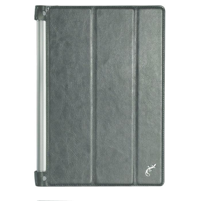 G-Case Slim Premium чехол для Lenovo Yoga Tablet 2 10.1, SilverGG-553Надежный высококачественный чехол G-Case Slim Premium для Lenovo Yoga Tablet 2 10.1 спроектирован специально для хранения планшета. В основании чехла предусмотрены различные вырезы под имеющиеся в аппарате клавиши, порты и разъемы. Поэтому, если вам нужно подключить наушники, поставить устройство на зарядку или воспользоваться камерой, будьте уверены, что все требуемые опции находятся в свободном доступе.Сенсорный дисплей очень чувствителен к внешним воздействиям, поэтому особенно важно хранить его под защитой. Этому требованию в полной мере удовлетворяет верхняя крышка чехла. Ко всему прочему специально для планшетов предусмотрена система закрывания и открывания чехла, при котором аппарат переходит в режим сна или активную фазу работы по требованию владельца.Ультратонкий дизайн чехла стал возможным благодаря высококачественной выделке натуральной кожи. Благодаря материалу размеры самого гаджета практически не увеличиваются. Чехол G-Case Slim Premium приятно держать в руках. Планшет в нем смотрится достойно и стильно. Кожаный футляр прослужит долго верой и правдой благодаря повышенной износостойкости и практичности материала.