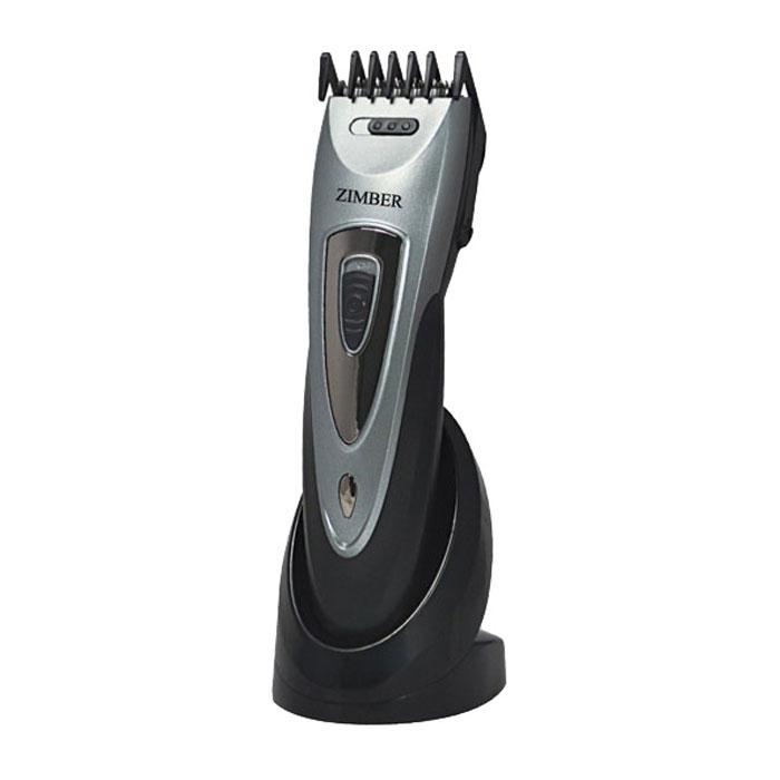 Zimber ZM-10655 машинка для стрижки волосZM-10655Zimber ZM-10655 - надежная и недорогая машинка для стрижки волос в эргономичном корпусе из пластика ABS. Прибор имеет мощный мотор и регулятор длины стрижки, с помощью которого можно настроить ее по вашему вкусу. Надежные лезвия из нержавеющей стали обеспечат оптимальную точность и долгий срок эксплуатации данной модели.