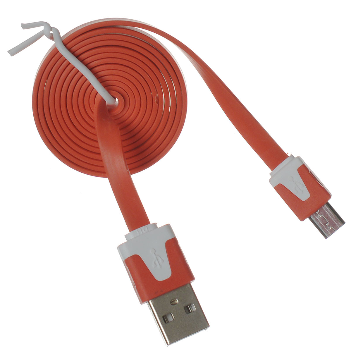 Liberty Project Micro-USB дата-кабель плоский узкий, OrangeSM000323Кабель Liberty Project Micro-USB предназначен для передачи данных с вашего устройства на персональный компьютер, а также зарядки от источников питания с USB выходом. Длина кабеля: 1 метр.