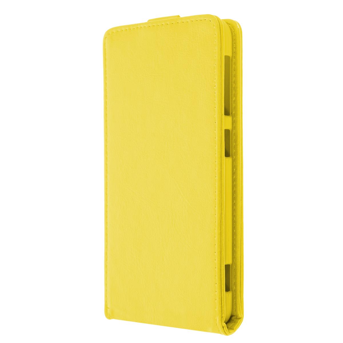 Skinbox Flip Case чехол для HTC Desire Eye, YellowT-F-HDEYEЧехол Skinbox Flip Case выполнен из высококачественного поликарбоната и экокожи. Он надежно защитит ваше устройство от пыли, влаги и механических повреждений. Обеспечивает свободный доступ ко всем разъемам и клавишам смартфона.