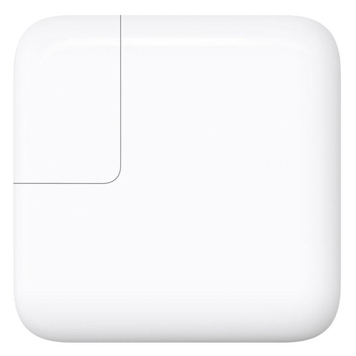 Apple USB-C адаптер питания 29 Вт (MJ262Z/A)MJ262Z/AАдаптер питания Apple USB-C мощностью 29 Вт позволяет быстро и эффективно подзарядить устройство дома, в офисе или в пути. Адаптер совместим со всеми моделями MacBook с портом USB-C. Требуется кабель для зарядки USB-C (продаётся отдельно).