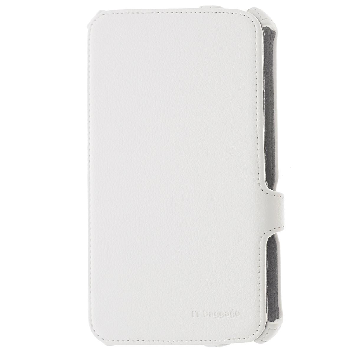IT Baggage мультистенд чехол для Samsung Galaxy Tab 4 7.0, WhiteITSSGT7405-0IT Baggage мультистенд для Samsung Galaxy Tab 4 7.0 - удобный и надежный чехол для планшета Samsung Galaxy Tab 4 7.0, который надежно защищает ваше устройство от внешних воздействий, грязи, пыли, брызг. Также чехол поможет при ударах и падениях, смягчая их, и не позволяя образовываться на корпусе царапинам, потертостям. Кроме того, он будет незаменим при длительной транспортировке устройства.