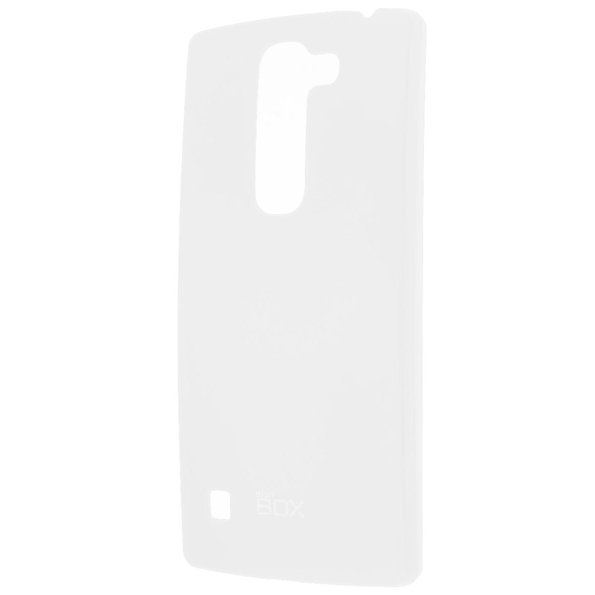 Skinbox Shield 4People чехол для LG Spirit, WhiteT-S-LS-002Накладка Skinbox Shield 4People для LG Spirit - отличный аксессуар для защиты корпуса вашего смартфона от внешних повреждений, сохраняющий размеры устройства и обеспечивающий удобство работы с ним. Устойчивый к истиранию пластик надежно амортизирует мелкие механические воздействия и предотвращает появление царапин или потертостей на корпусе вашего гаджета. В комплект также входит защитная пленка для экрана смартфона.